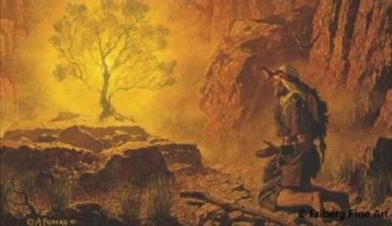 Burning Bush Art Nauvoo Times - Lawrenc...