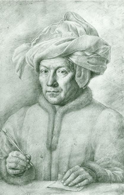 Van Eyck Drawings Jan Van Eyck Old Man With a